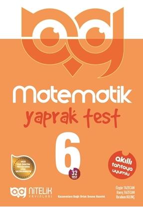 Resim 6.SINIF MATEMATİK YAPRAK TEST ( 32 TEST )